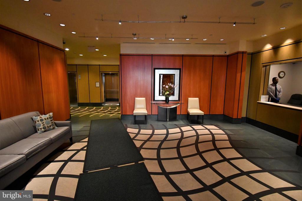 Lobby - 400 MASSACHUSETTS AVE NW #1007, WASHINGTON