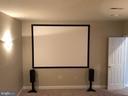 Basement Movie Room - 14042 BLUE VIEW CT, LEESBURG