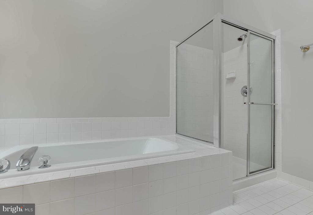 Spa tub and standing shower - 4731 THORNBURY DR, FAIRFAX