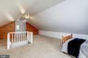 Finished Attic = Bonus Room - 5440 NEBRASKA AVE NW, WASHINGTON