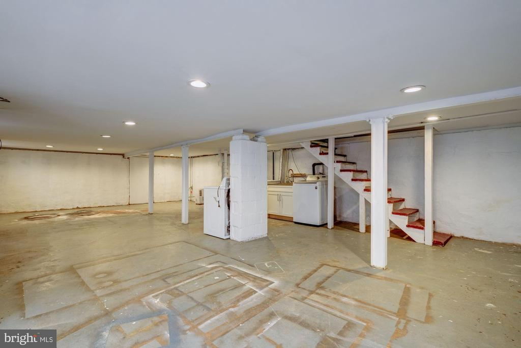 Unfinished Basement/ Laundry - 5440 NEBRASKA AVE NW, WASHINGTON