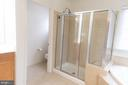 Master Bathroom  - Separate Show and Toilet - 1689 WINTERWOOD CT, HERNDON
