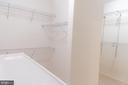 Master Bedroom Closet - 1689 WINTERWOOD CT, HERNDON