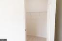 Bedroom #2 - Walk-in Closet - 1689 WINTERWOOD CT, HERNDON