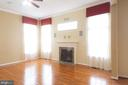 Family Room w/ Gas Fireplace - 1689 WINTERWOOD CT, HERNDON