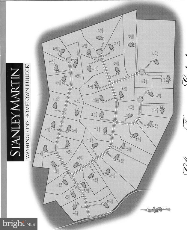 Site Plan - 14042 BLUE VIEW CT, LEESBURG