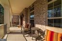 Large front porch - 6204 BERNARD AVE, ALEXANDRIA