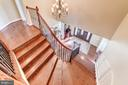 Two separate staircases going upstairs! - 6204 BERNARD AVE, ALEXANDRIA