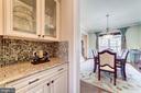 Butler's pantry - 6204 BERNARD AVE, ALEXANDRIA