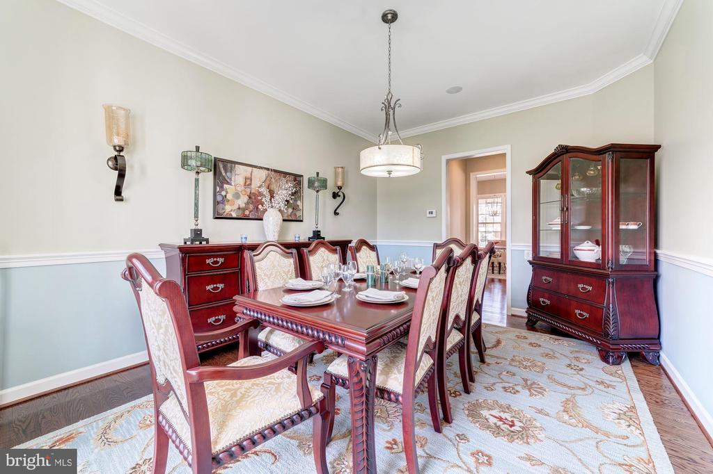 Formal dining room - 6204 BERNARD AVE, ALEXANDRIA