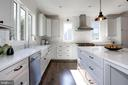 marble tile backsplash, quartz contertops - 5010 25TH RD N, ARLINGTON