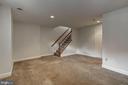 Lower Level Family Room - 1501 22ND ST N, ARLINGTON