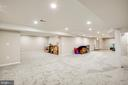 Huge Rec room in basement - 2 KINGSLEY CT, STAFFORD