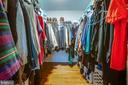 nice walk in closet - 2 KINGSLEY CT, STAFFORD
