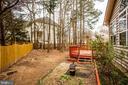 backyard - 2 KINGSLEY CT, STAFFORD