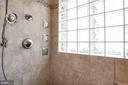 Walk-in shower - 8110 MADRILLON SPRINGS LN, VIENNA