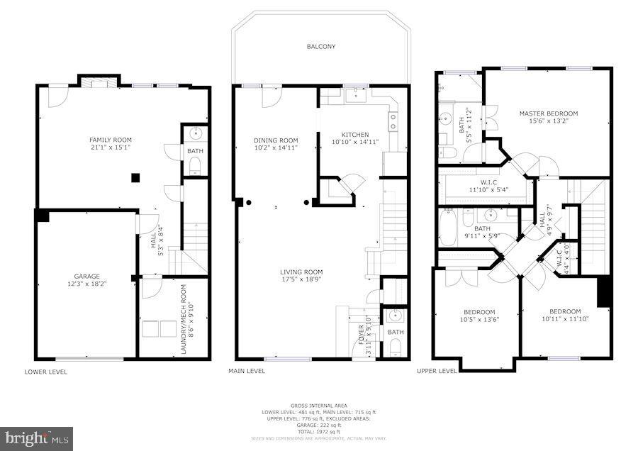 Floor plan - 8110 MADRILLON SPRINGS LN, VIENNA