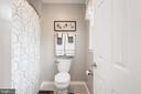 Upper level bath with tub/ shower, tiled floors - 6 SPRING LAKE DR, STAFFORD