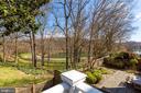 Rear deck view of reservoir - 4311 TORCHLIGHT CIR, BETHESDA