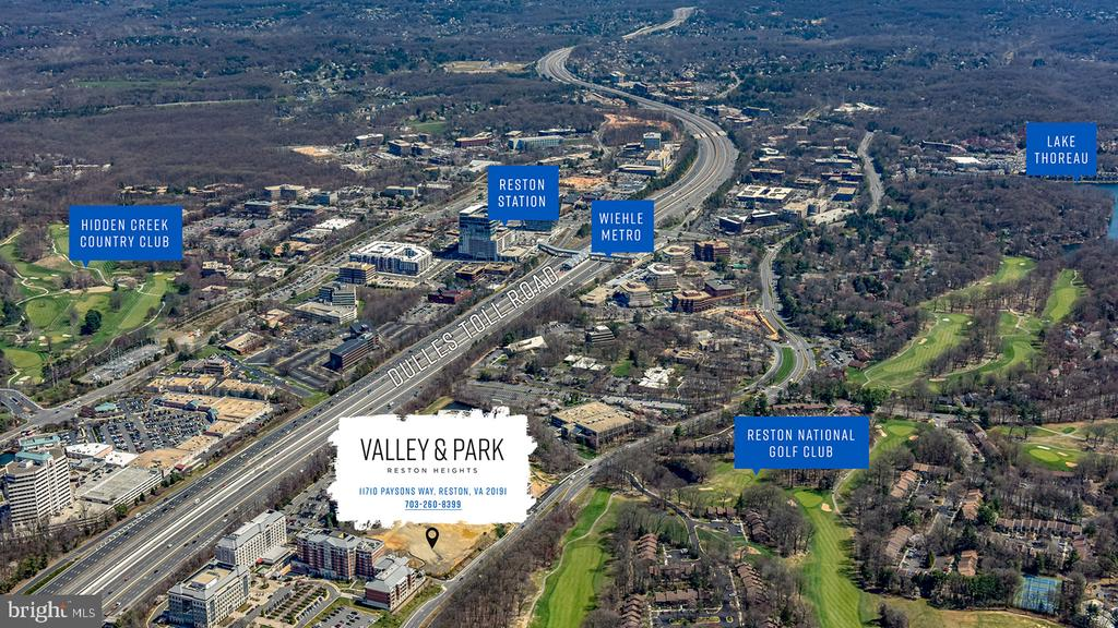 Aerial Map - 11712 PAYSONS WAY, RESTON