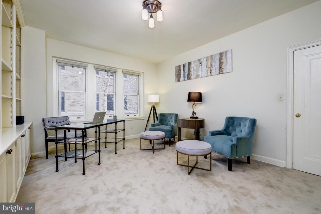Third bedroom/ study - 2101 CONNECTICUT AVE NW #23, WASHINGTON