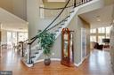 Beautiful 2 Story Foyer - 21946 HYDE PARK DR, ASHBURN