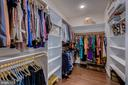 Enormous custom closet with two separate sides - 23065 CHAMBOURCIN PL, ASHBURN