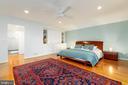 Master bedroom with built-ins - 4311 TORCHLIGHT CIR, BETHESDA