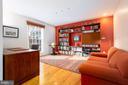 First floor office/den/library - 4311 TORCHLIGHT CIR, BETHESDA