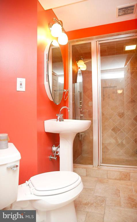 Full bath also has heated floors - 25928 KIMBERLY ROSE DR, CHANTILLY