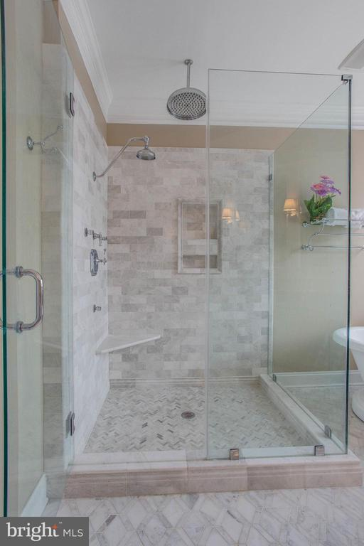 Master Bathroom upgraded - 18339 BUCCANEER TER, LEESBURG