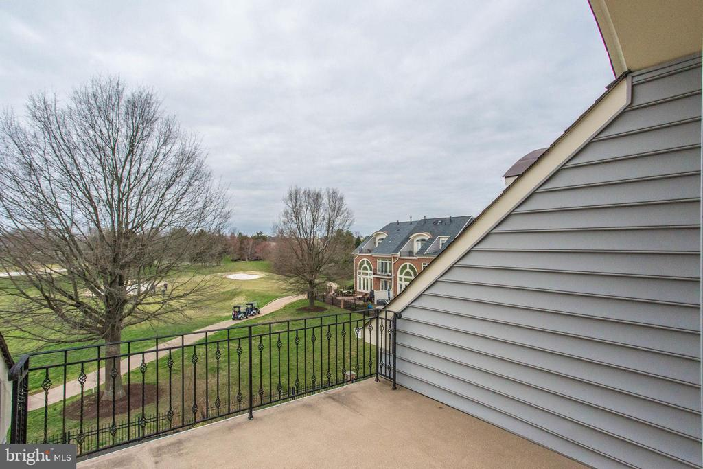 Golf Course View~from the 4 level deck - 18339 BUCCANEER TER, LEESBURG