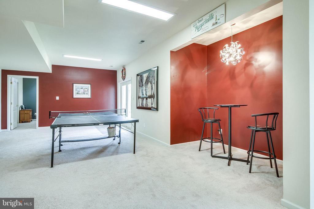 Spacious Basement - 13451 GRAY VALLEY CT, CENTREVILLE