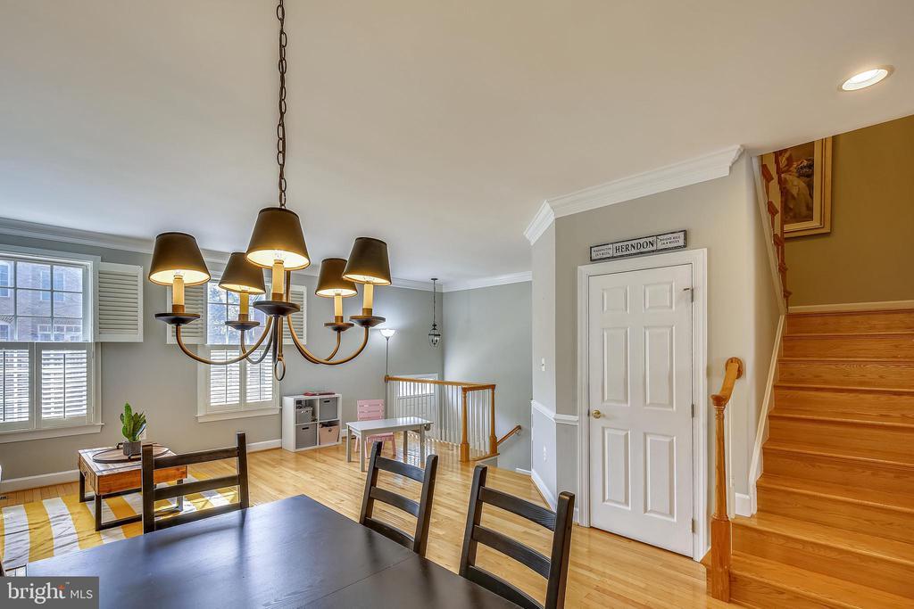 Dining and Living Room - 147 HERNDON MILL CIR, HERNDON