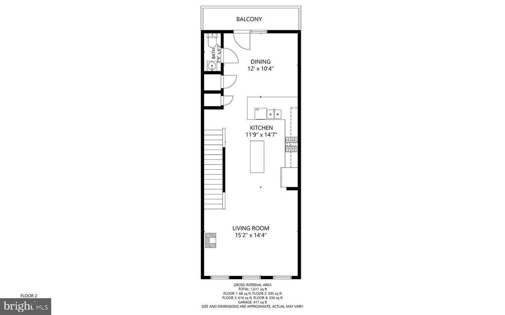 2nd floor - 416 HAUPT SQ SE, LEESBURG