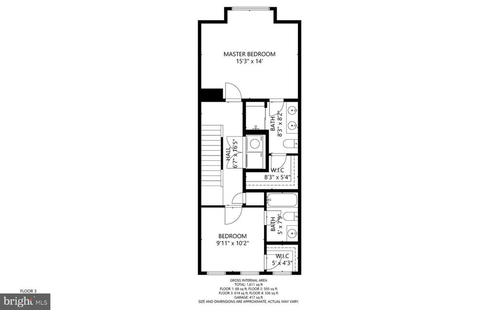 3rd floor - 416 HAUPT SQ SE, LEESBURG