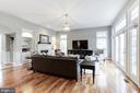 Gleaming hardwood flooring - 43475 SQUIRREL RIDGE PL, LEESBURG