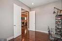 Double Door Entry to Library from Foyer - 20689 HOLYOKE DR, ASHBURN