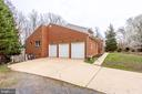 END VIEW  FACING FROM LEFT ANGLE - 7365 BEECHWOOD DR, SPRINGFIELD