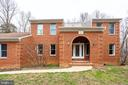 FRONT VIEW OF HOME FROM WALKWAY - 7365 BEECHWOOD DR, SPRINGFIELD