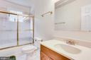 MAIN LEVEL BEDROOM BATHROOM - 7365 BEECHWOOD DR, SPRINGFIELD