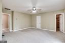 MAIN LEVEL BEDROOM TO BATHROOM DOORWAY - 7365 BEECHWOOD DR, SPRINGFIELD