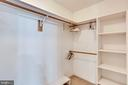 ONE OF TWO MASTER WALK IN CLOSETS - 7365 BEECHWOOD DR, SPRINGFIELD
