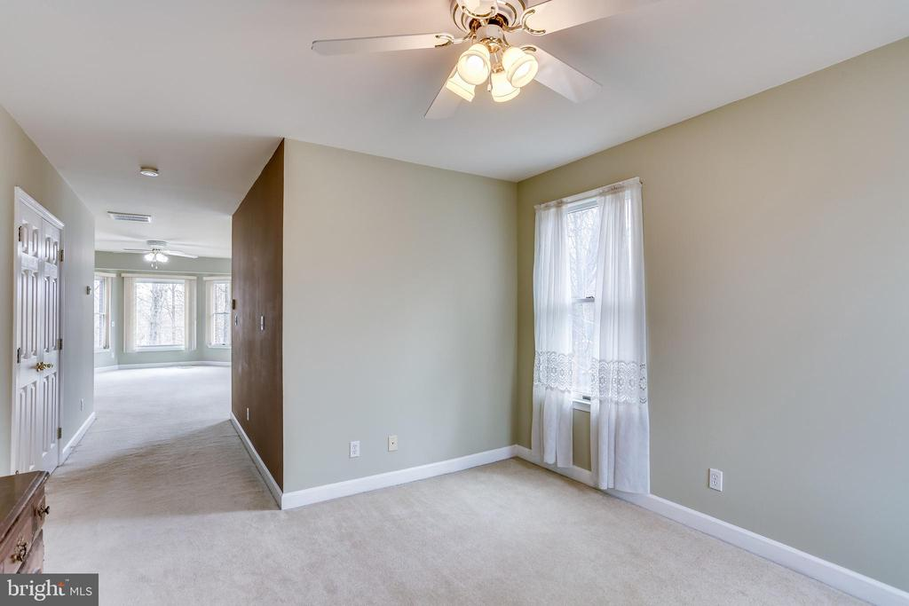 VIEW FROM SITTING ROOM TO MASTER BEDROOM - 7365 BEECHWOOD DR, SPRINGFIELD