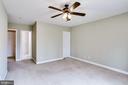 UPPER LEVEL REAR BEDROOM TO BATHROOM DOOR - 7365 BEECHWOOD DR, SPRINGFIELD
