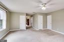 MASTER BEDROOM-CLOSET DOORS AND BATHROOM DOOR - 7365 BEECHWOOD DR, SPRINGFIELD
