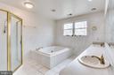 MASTER BATHROOM SOAKING TUB - 7365 BEECHWOOD DR, SPRINGFIELD
