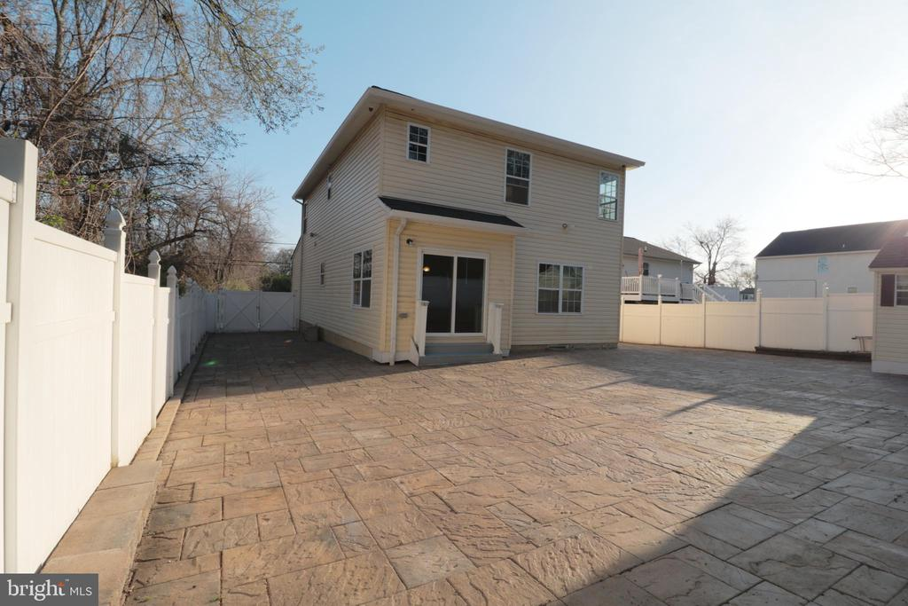 Rear of house - 5717 KOLB ST, FAIRMOUNT HEIGHTS