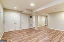 Bright, open rec room lots of storage - 43329 MARY RITA TER, ASHBURN