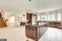 Great  Entertaining Kitchen - 11408 WOLFS LNDG, FAIRFAX STATION